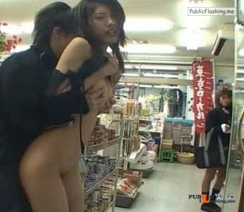 Japanese having sex in public