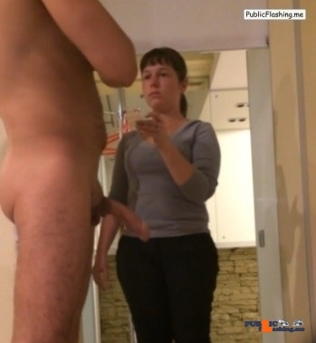 Big dick flash videos