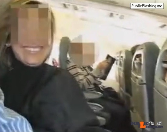 Amateur wife handjob in plane VIDEO
