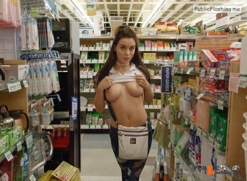 Public flashing photo walmartwomenflashers:It happens sometimes a girl for no apparent... Public Flashing