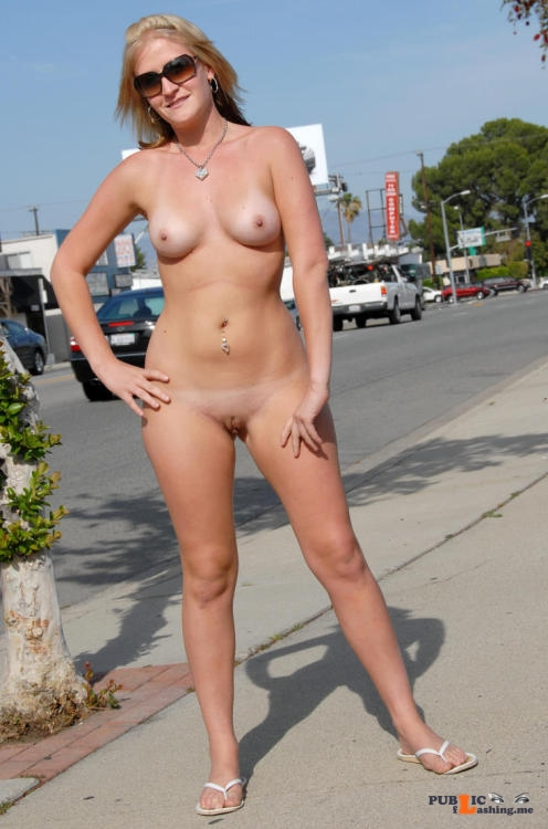 Public nudity photo trust me i look better naked:Hot and Naked in public..great... Public Flashing