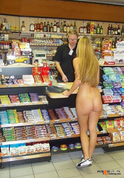 Public flashing photo embarrassedattheirnudity:For more hot amateur women caught in... Public Flashing