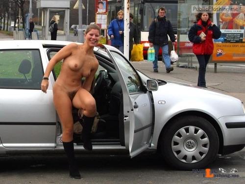 Public nudity photo publicspacebv: Follow me for more public exhibitionists:... Public Flashing