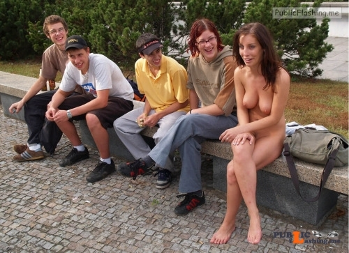 Public nudity photo digitalexhibitionists: Be a flirt, lift up your shirt.  2500+... Public Flashing