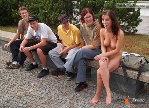 Public nudity photo digitalexhibitionists: Be a flirt, lift up your shirt. 2500+... Public Flashing