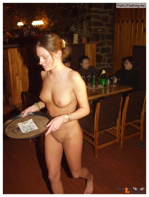 Public nudity photo thelifeoftami:The plate was finally empty and Tami went back to... Public Flashing