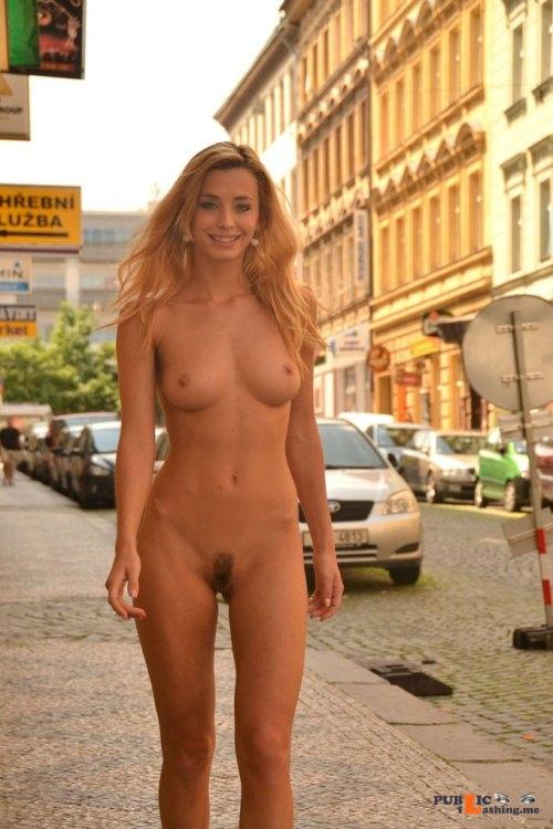 Public nudity photo euronudist:Walked along the avenue Follow me for more public... Public Flashing
