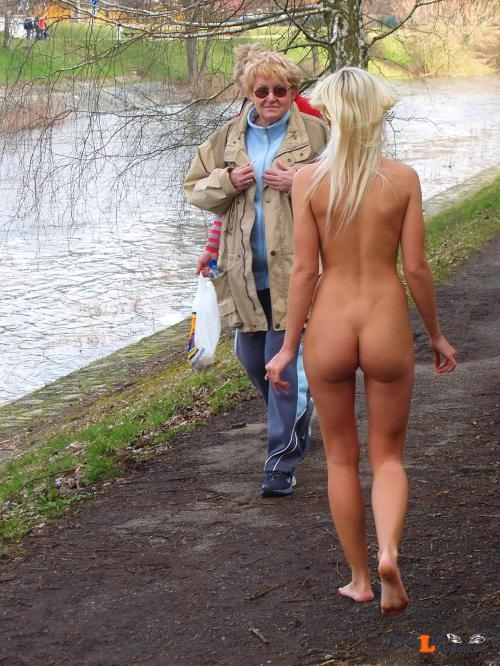 Public nudity photo cfnf clothed female naked female: public nude sister: More... Public Flashing
