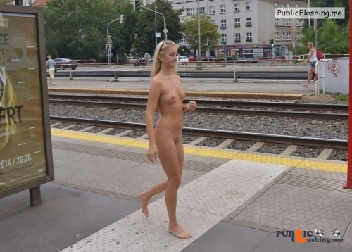 Public nudity photo crazygirl 4:I have an empty seat by me on the next train? Follow... Public Flashing