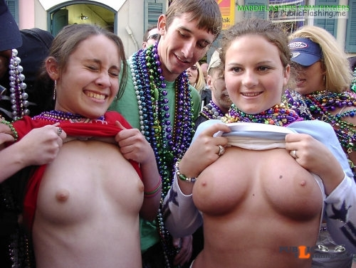 Public flashing photo enf findings: flash4us: MARDI GRAS   2002   New Orleans,... Public Flashing