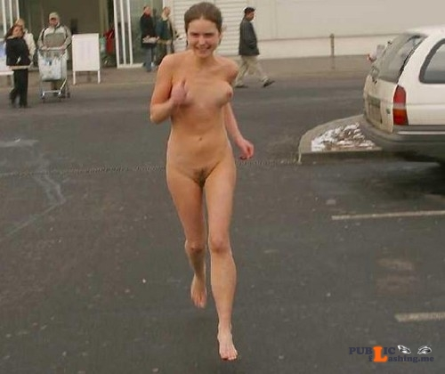 Public nudity photo caughtnakedbabes: Follow me for more public exhibitionists:... Public Flashing