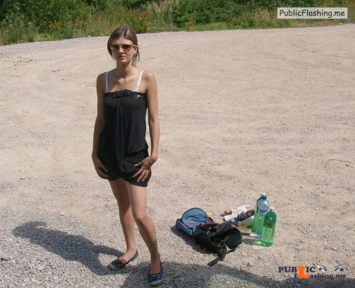 Flashing in public photo fkk nudist naturist:? Public Flashing