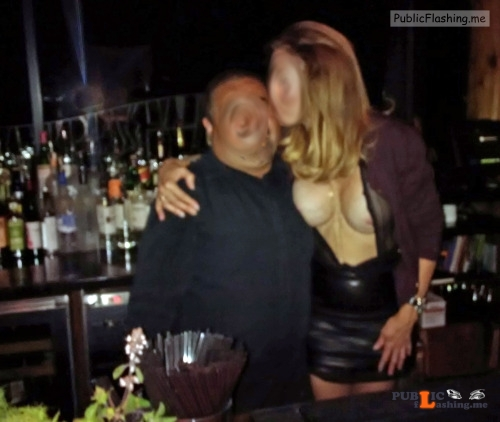 Public exhibitionists wifedatenightfantasies: Lacey pic. Great night of fun with Juan... Public Flashing