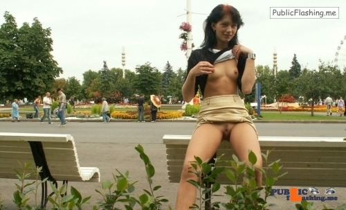 Public nudity photo nopantysarethebestpantys:Outdoor sexy Follow me for more public... Public Flashing