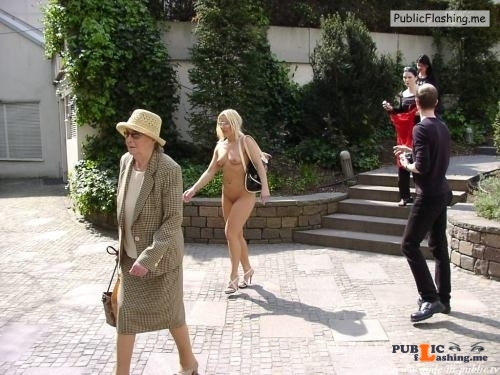 Public nudity photo nude girls in public: Nude in public.tv:  Kerstin Follow me... Public Flashing