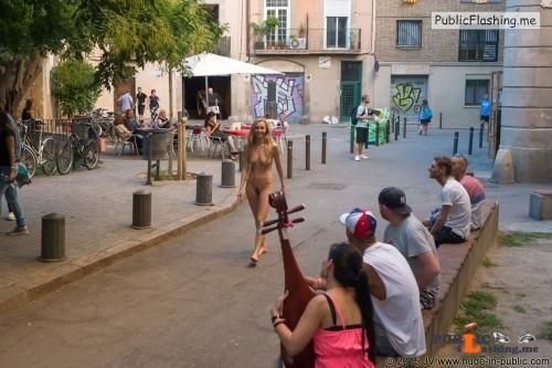 Public nudity photo nude girls in public:Nude in public: Dominika J   Series... Public Flashing