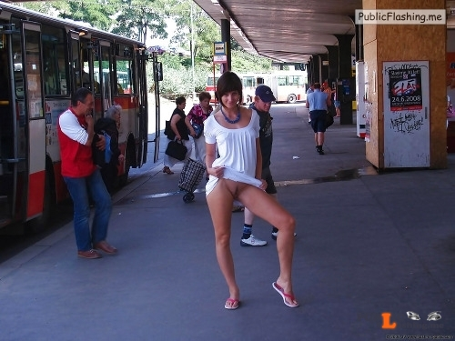 Public nudity photo outside only:do you some more sluts flashing in public posts?... Public Flashing