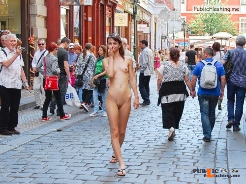 Public nudity photo p s s:Slut Walking   embarrassed but obediant Follow me for more... Public Flashing