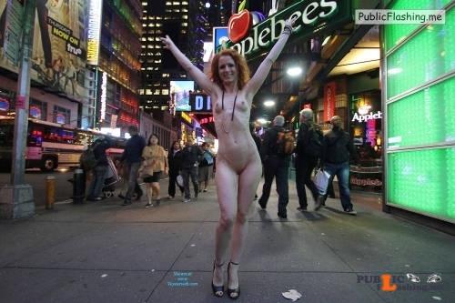 Public nudity photo p s s: Vienna   Nue York New York Slut strutting redhead… Follow... Public Flashing