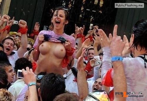 Public nudity photo drunk85voyeur: Follow me for more public exhibitionists:... Public Flashing