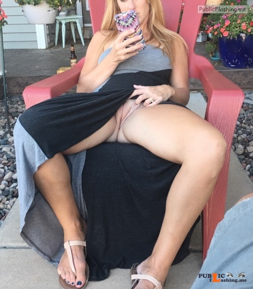 No panties sex plorers: Hubby's enjoying the view pantiesless Public Flashing