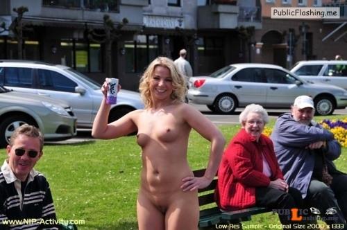 Public nudity photo walkingandswinging: nakedcascadia: #picset   Proud to be exposed... Public Flashing