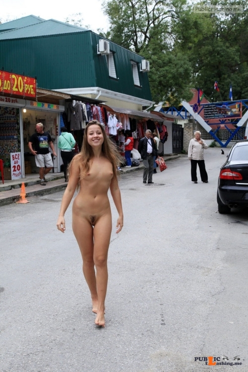 Public nudity photo exposed on public:At the market Follow me for more public... Public Flashing