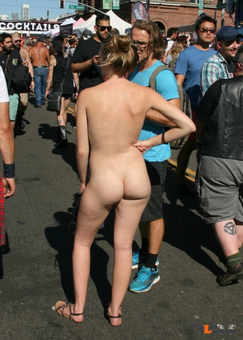 Public nudity photo flanneador:FOLSOM STREET FAIR 2016 Follow me for more public... Public Flashing