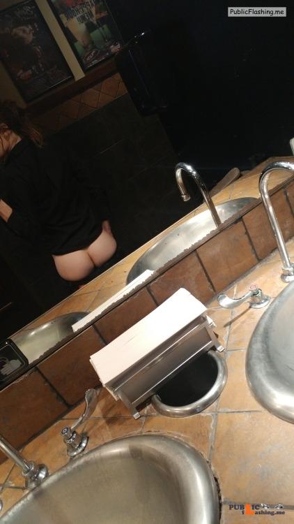 No panties deadlynightshade88: At work. pantiesless Public Flashing