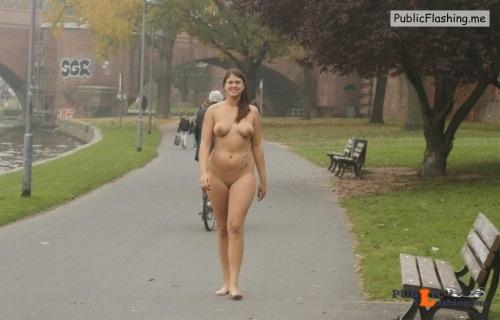 Public nudity photo nakedcascadia: nudieman: BBW with a nice ass naked in... Public Flashing