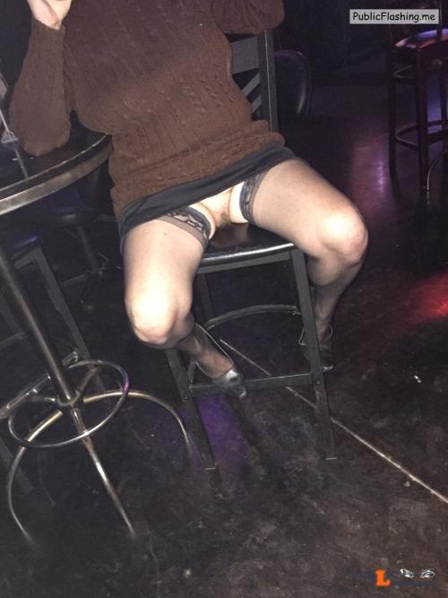 No panties Photo pantiesless Public Flashing