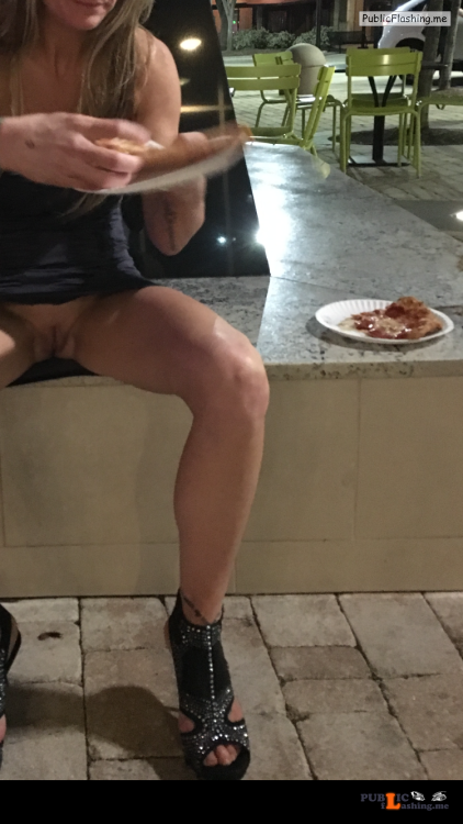 Exposed in public Late night snack Thank you for the submission… Public Flashing