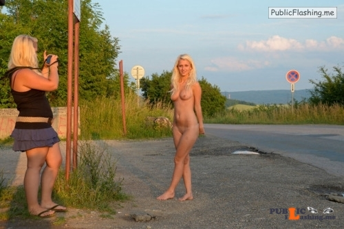 Public nudity photo smuuthie: livefree n nude: ? Tereza K. Loves to be Nude in... Public Flashing