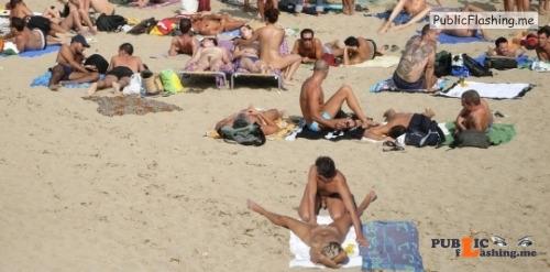 Public nudity photo beach boners: beach boners.tumblr.com Follow me for more public... Public Flashing