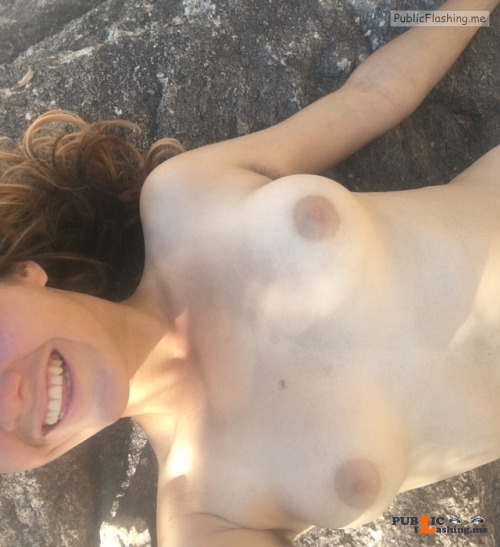 Outdoor nude selfshot thiskinkycutie: !happy cutie reached 2k followers! Public Flashing