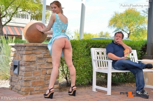 FTV Babes Nope. Michelle doesn't know that guy. Nor does he work for FTV.... Public Flashing