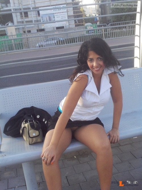 No panties slutandwhoreavital: ALWAYS COMMANDO pantiesless Public Flashing