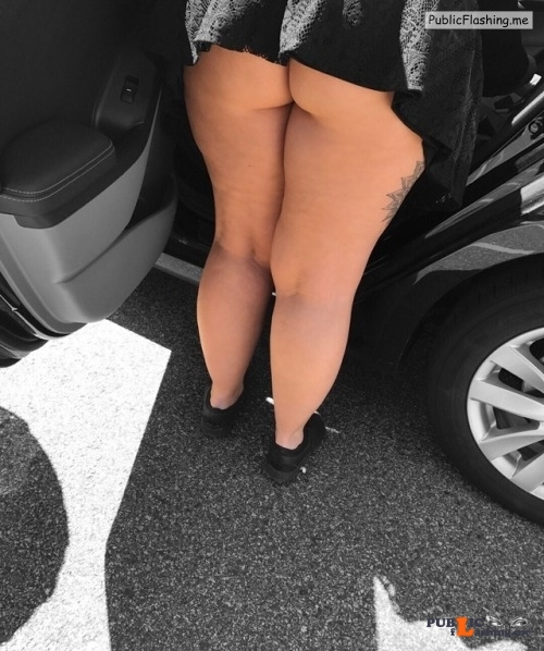 No panties daddys darkest dreams: A new princess dress to wear out during... pantiesless Public Flashing
