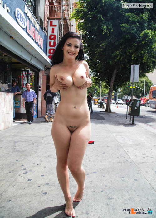 Public flashing photo nudeandnaughtyflashing: You cannot get much crazier and braver... Public Flashing