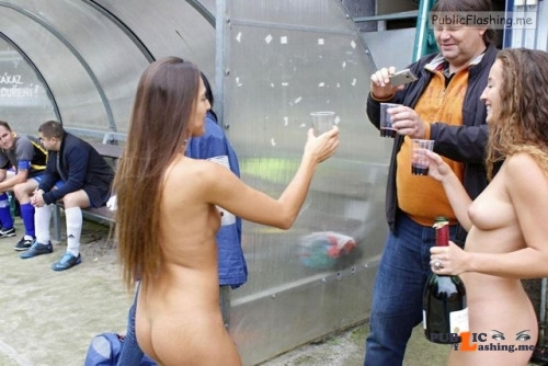 Public nudity photo collegegirlsenjoyingtobenude:Real hot amateurs … Follow me for... Public Flashing