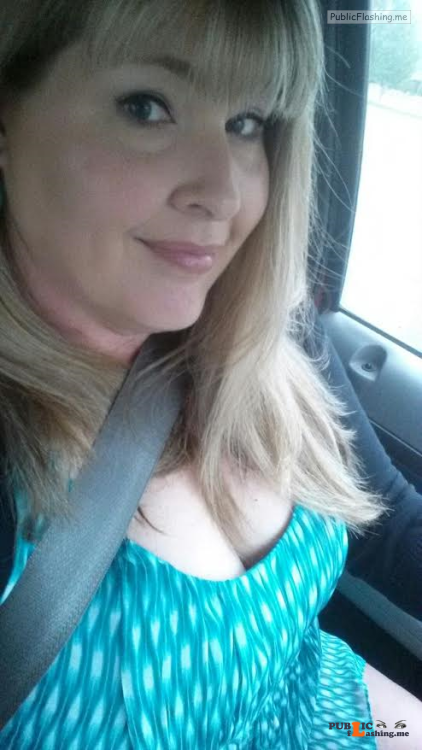 No panties Naughty in the car, but how naughty? pantiesless Public Flashing