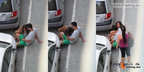 Public nudity photo public sex:Caught Public BJ and Cockblocked Follow me for more... Public Flashing