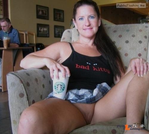 No panties bi tami: Her name is Katherine…Nickname Kitty   we meet at... pantiesless Public Flashing