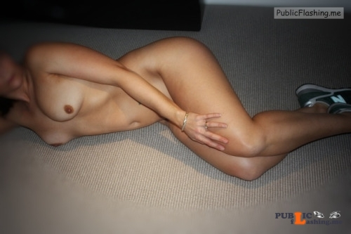 No panties Sexy wife in Running shoes Thanks for the submission... pantiesless Public Flashing