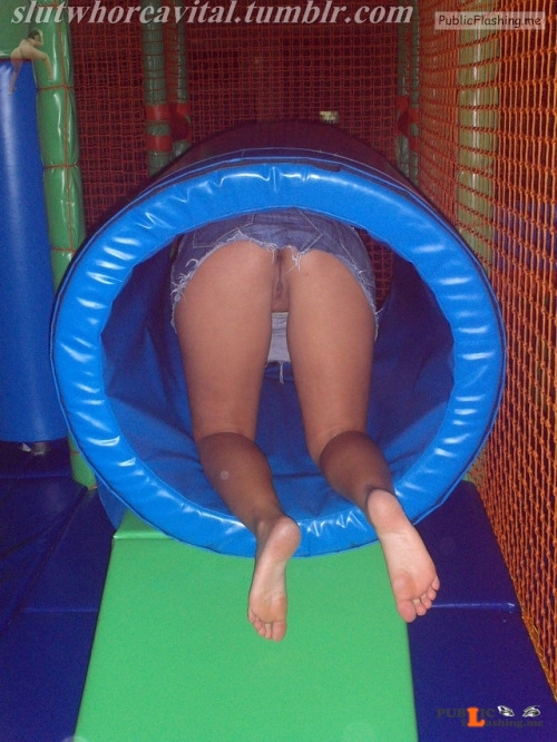 No panties slutandwhoreavital: I FORGOT TO WEAR PANTIES . I DESERVE TO BE... pantiesless Public Flashing