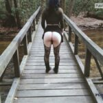 No panties submissivesexdoll: Who else loves the woods? Commando hikes… pantiesless