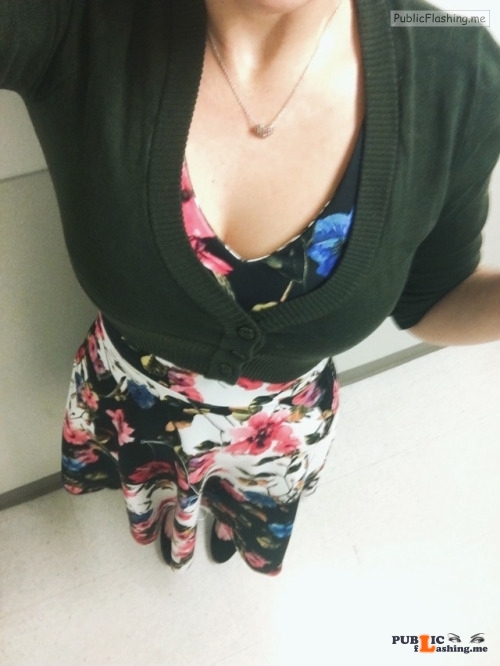 No panties gingergingeralethief: A prim outfit doesn't make a girl... pantiesless Public Flashing
