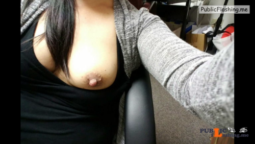 No panties skywritter88: TGIFF tits out, flaps out bring on the... pantiesless Public Flashing