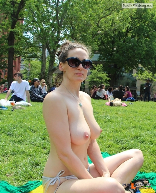 Public nudity photo nudeandnaughtyflashing:The perfect way to enjoy memorial day... Public Flashing