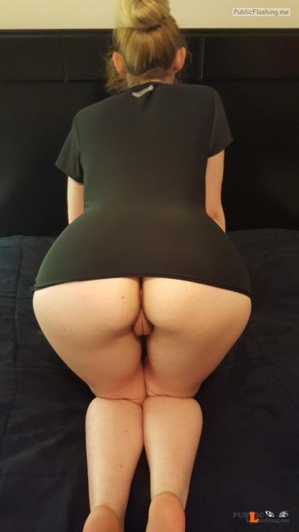 No panties naughtygf2share:Just a little naughty Friday night fun... pantiesless Public Flashing